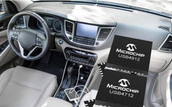 Microchip发布符合USB 2.0规范的新型单端口产品USB4912和USB4712