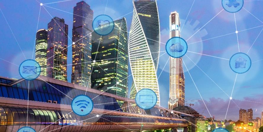 智慧城市离●得开智能建筑吗