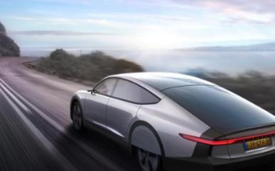 首款长续航里程太阳能电动车Lightyear O...