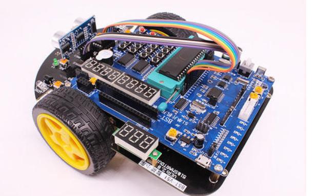 使用51單片機設計自動循跡智能小車的詳細資料說明