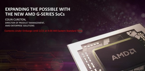 AMD对嵌入式处理器的更新