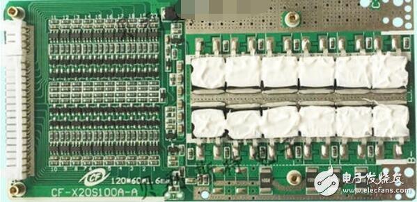 锂电池保护板同口和分口的区别