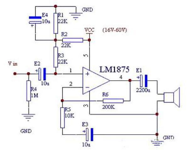 Amplifier Protection Circuit Diagram