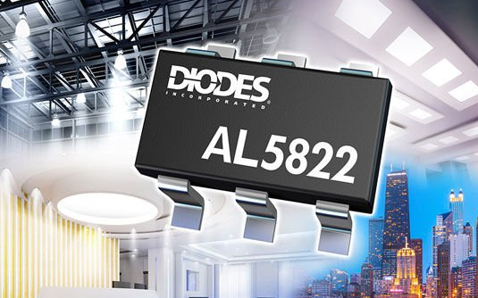 Diodes推出自适应LED电流纹波抑制器,为工...