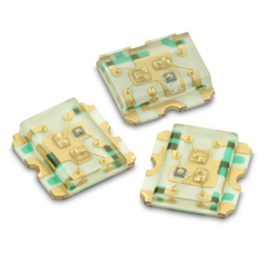 HSMF-C125 1.6 x 1.6三色表面贴装芯片
