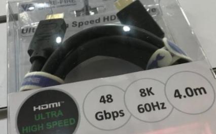 最新48Gbps的HDMI连接线缆即将上市