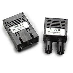 AFBR-5805AZ 155 MBd MMF收发器,用于ATM / SONET OC-3,1x9,外部温度(-10C至85C),符合RoHS标准