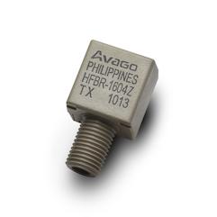 HFBR-1604Z 用于SERCOS应用的2 MBd大功率光发射器,2x4,符合RoHS标准