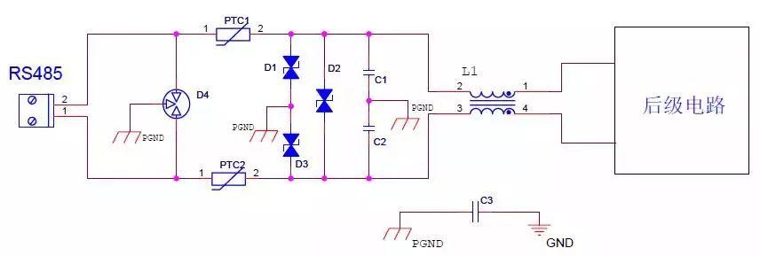 关于RS485接口EMC电路设计方案分析介绍