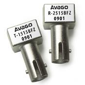 HFBR-2515BFZ 适用于ST端口的工业应用的10MBd金属外壳光接收器,符合RoHS标准