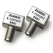 HFBR-2506AFZ 用于SERCOS應用的16MBd金屬外殼光接收器,帶SMA端口,符合RoHS標準