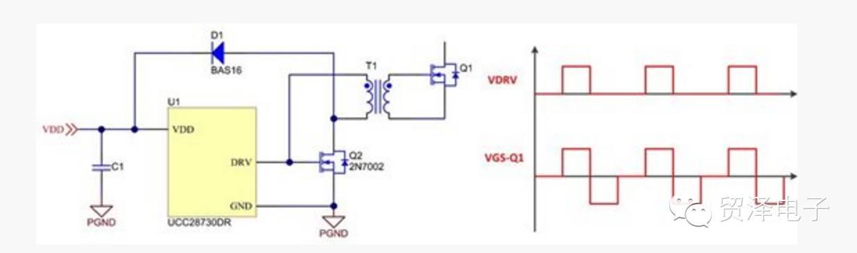 分享用于驱动栅极驱动变压器的简单电路分析介绍