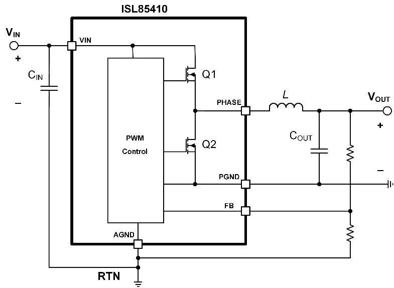 基于ISL85410降压稳压器IC为例的应用设计