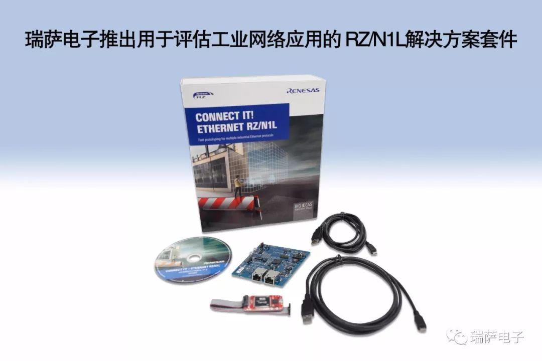 瑞萨电子推出基于微处理器系列产品的解决方案套件