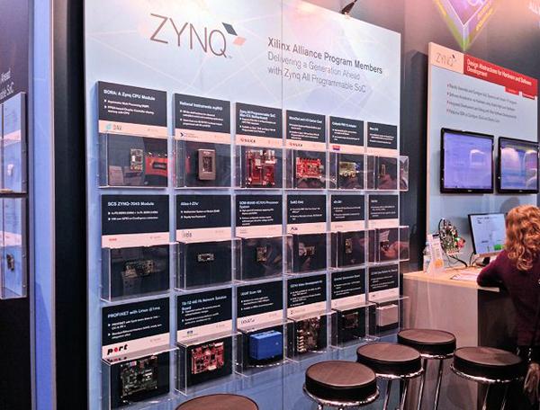 在世界大會上,賽靈思展示30款基于Zynq新產品成為焦點