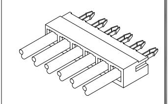 B3951系列3.96mm节距板对板连接器数据手册免费下载
