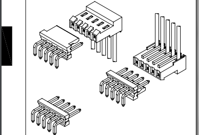 D3961系列3.96mm间距IDC线对板连接器的数据手册免费下载