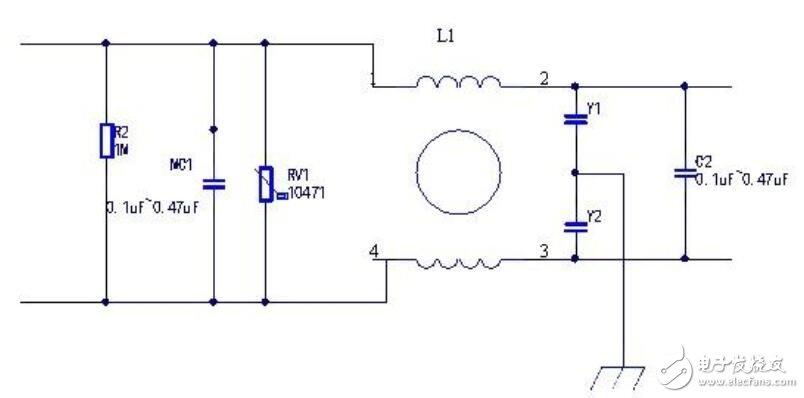 安规电容用在哪里_安规电容怎么接