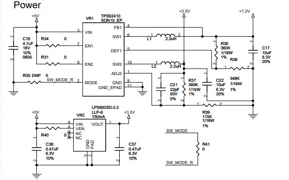LAN7500高速USB 2.0以太網控制器的電路原理圖免費下載