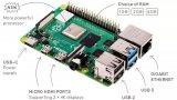 新款第四代樹莓派Raspberry Pi 4正式發布了!
