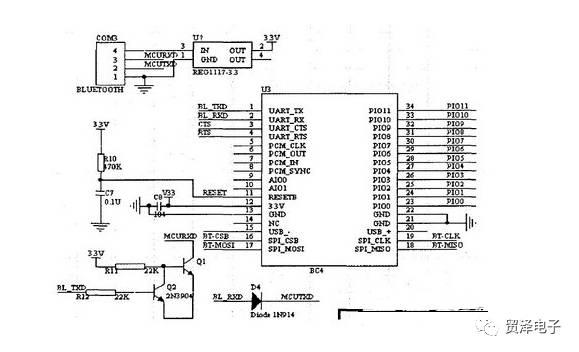 关于智能蓝牙模块电路设计方案解析