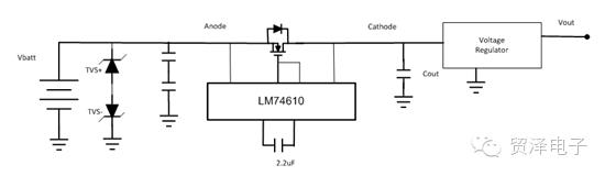 关于如何设计一个反向极性保护的电路分析