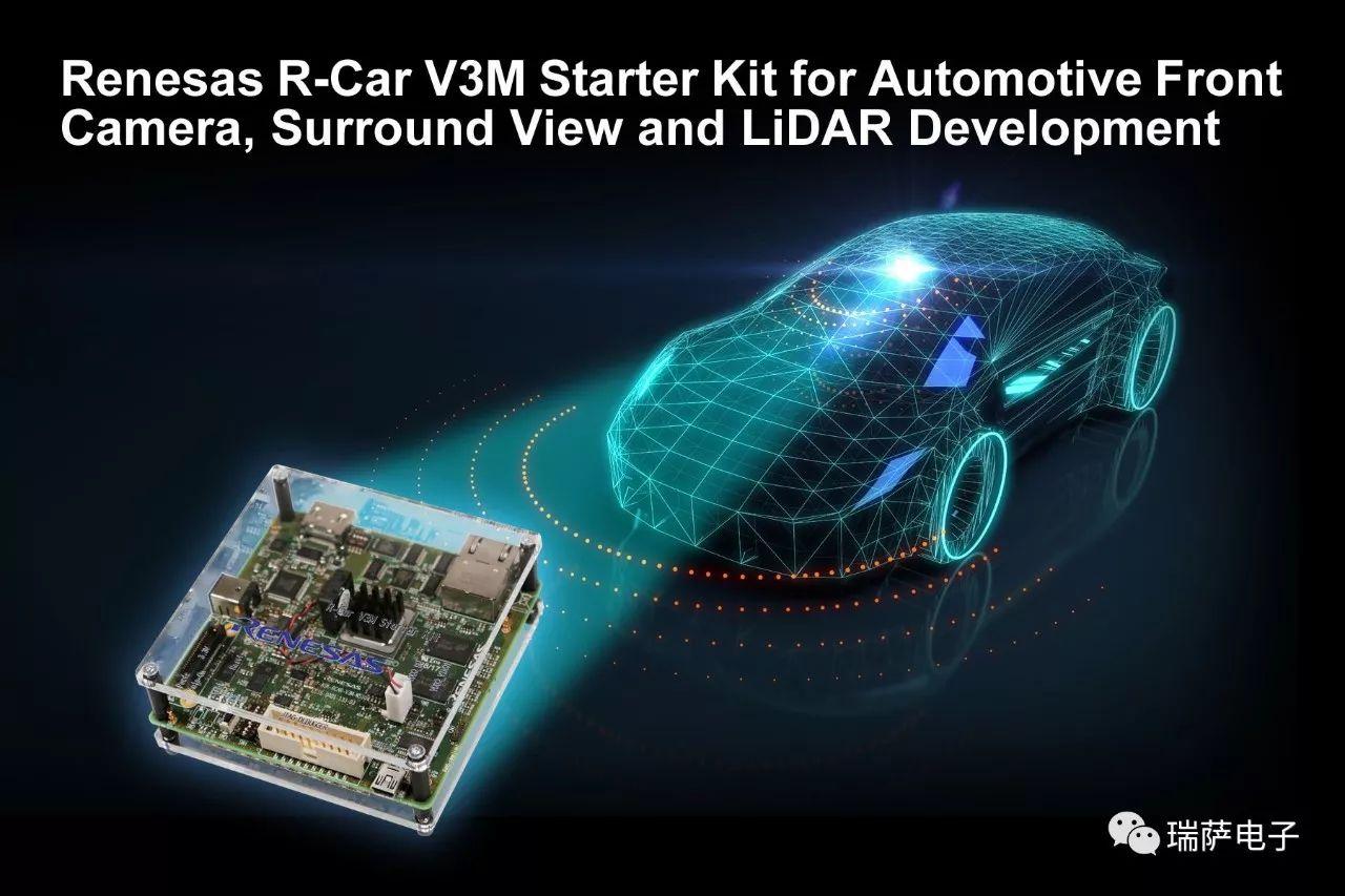R-Car V3M入门套件可以显著减轻开发强度并...