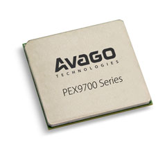 PEX 9781 81通道,21端口,PCI Express Gen3 ExpressFabric平台