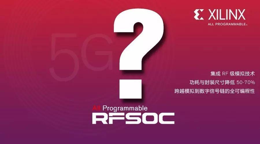 赛灵思发布RF级模拟技术,实现面向5G无线的颠覆...