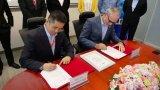 博世汽车电子事业部与索能达战略合作签约仪式!
