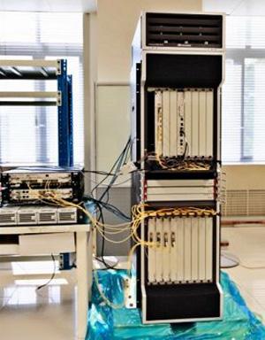 400G原型路由器的發布,預示未來數年數據海嘯的到來