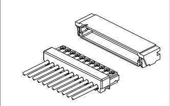 D0601系列0.6mm间距精密线对板连接器的数据手册免费下载