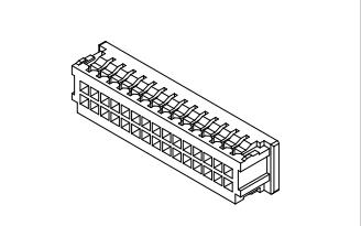A1258系列1.25mm线对板连接器的数据手册免费下载