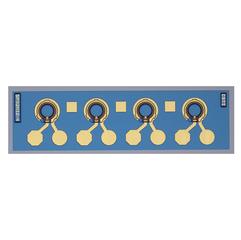 SPD2012-4 GaAs 1×3阵列PIN光电二极管