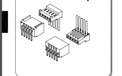 D2541系列2.54mm间距IDC线对板连接器的数据手册免费下载