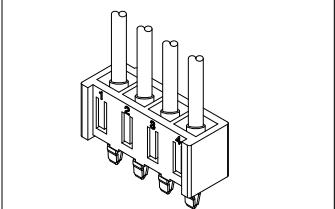 B3952系列3.96mm节距线对板连接器数据手册免费下载