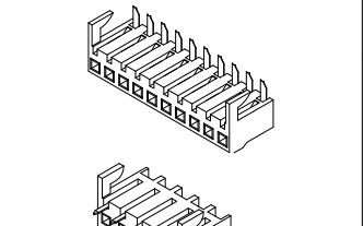 B3961系列3.96mm节距板对板连接器的数据手册免费下载