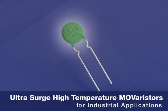 Vishay 推出新系列VDR金屬氧化物壓敏電阻 具有出色高溫性能