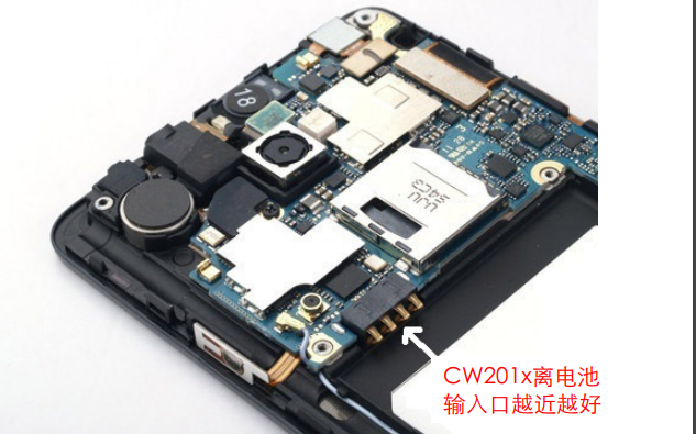 CW201x PCB设计和电池模型提取的注意事项的详细资料说明