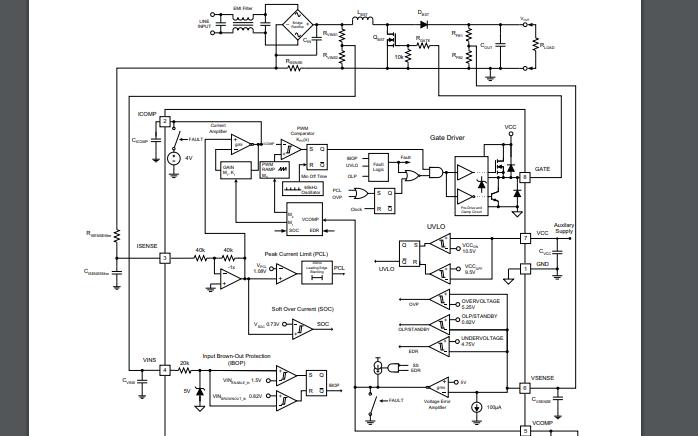 UCC28019有源功率因數校正PFC控制器的數據手冊免費下載