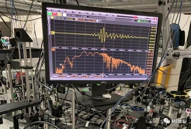 中红外频率梳桌面系统 助力蛋白质结构探测