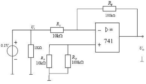 反相放大器电路的构成及应用