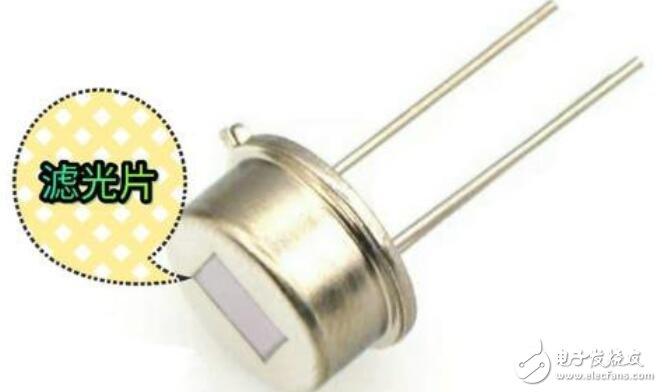 热释电红外传感器工作原理及结构说明