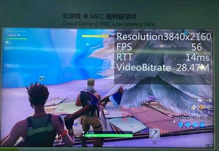 中兴通讯联合中国移动和腾讯完成了3GPP 5G SA标准的云游戏切片演示