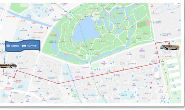 中国移动联合华为共同打造出了5G+精品路线连续覆盖端到端新体验