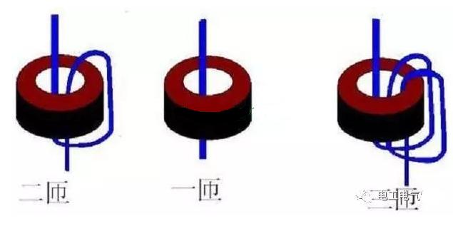 電流互感器正確繞線方法