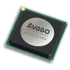 PEX 8647 48通道,3端口PCI Express Gen 2(5.0 GT / s)開關,27 x 27mm FCBGA