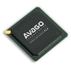 PEX 8617 16通道,4端口PCI Express Gen 2(5.0 GT / s)开关,19 x 19mm PBGA