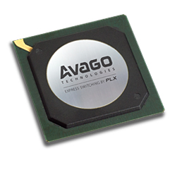 PEX 8625 24通道,24端口PCI Express开关,35 x 35mm FCBGA