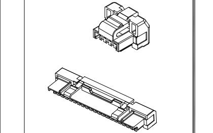 A1259系列1.25mm线到板卡扣连接器的数据手册免费下载